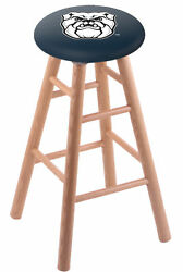 Holland Bar Stool Co. Oak Counter Stool In Natural Finish With Butler Univers...
