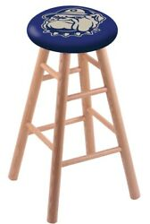 Holland Bar Stool Co. Oak Counter Stool In Natural Finish With Georgetown Sea...