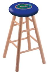 Holland Bar Stool Co. Oak Counter Stool In Natural Finish With Florida Seat R...