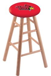 Holland Bar Stool Co. Oak Counter Stool In Natural Finish With Illinois State...