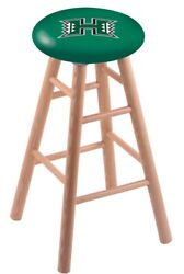 Holland Bar Stool Co. Oak Counter Stool In Natural Finish With Hawaii Seat Rc...