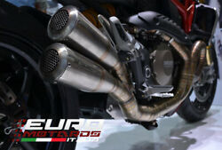 For Ducati Monster 1200 Silmotor Exhaust Full System Megaphone Special Edition