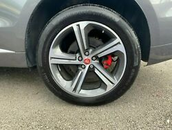 Original 4x Jaguar F-pace 20 Blade Grau Goodyear Eagle F1 At. Wheels With Tyres