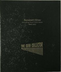 The Coin Collector Collection Album Usa Roosevelt Dimes Us 1946-2002 With Proofs
