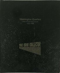 The Coin Collector Album Us Washington Quarters 1932-1998 W/ Proofs + 1976 1979
