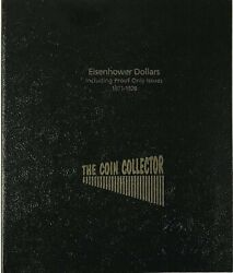 The Coin Collector Album For Us Eisenhower Dollars 1971-1978 P And D 4pg 36 Slots