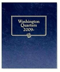 Statehood Quarters 2009 Pds Whitman Coin Album 2642 Collector Great Gift New