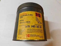 Vintage Kodak Recordak Dacomatic A Film 5461 Tin Canister 105mm X 200and039 Sp 890