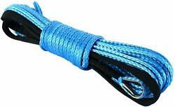 Synthetic Winch Line Cable Rope 1/4 X 50ft 7700lbs With Sheath Atv Suv New