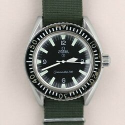 Omega Seamaster 300 Royal Navy 1970 Original Owner with Archive