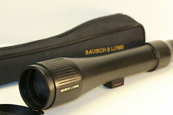 Bausch And Lomb Elite...15-45 X 60 Mm Zoom Spotting Scope.... Made In Japan
