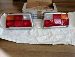 Bmw 5 E12 Tail Lights Complete L+r Side Pair New Genuine Bmw Free Shipping