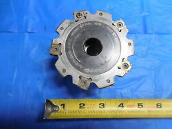 Seco Indexable Disc Mill T Slot Cutter 4 Dia 5/16 Thick R335.19-04.00-031-5