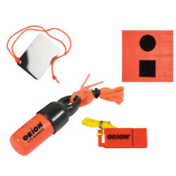 Orion Signaling Kit - Flag Mirror Dye Marker And Whistle 619