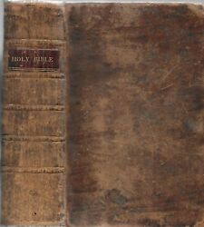 The Holy Bible. Walpole, N.h. 1815. First Bible Published In New Hampshire.