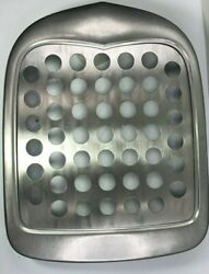 Plain Radiator Grill Shell W/ Holes Steel Insert For 1928-1929 Ford Model A
