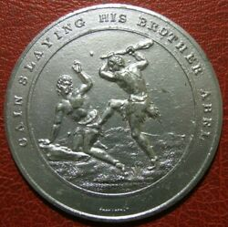 Judeo Christian Gain Slaying His Brother Abel Medal By Thomason
