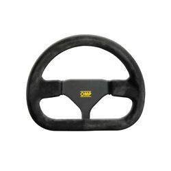 Omp Indy Suede Steering Wheel - Size Universal