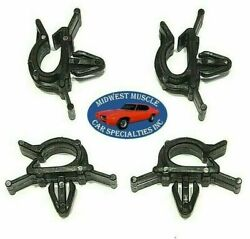 Chrysler Battery Cable Headlight Dash Horn Wiring Harness Hose Clamp Clips 4pc H