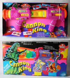 Rare Vintage 90's Godzilla And Monsters Air Cannon Ball Shooter Hello Modern New