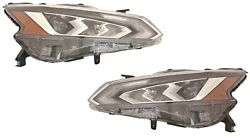 Fit Nissan Altima 2019 2020 Left Right Led Headlight Head Light Front Lamp Pair
