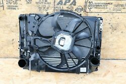 Front Clip Cooling Core System Condenser Radiator Ac Fan Assembly Oem Bmw E84