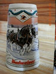 12 Anheuser Busch Holiday Series Beer Steins