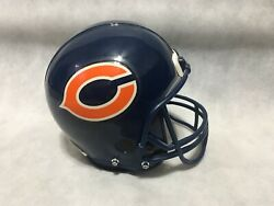 Chicago Bears Collectible Die Cast Mini Helmet Coin Bank Not Complete Ertl