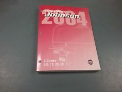 Service Manual For 9.9 To 35 Hp Johnson Outboard Motor 2004