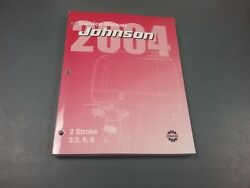 Service Manual For 3.5, 6 And 8 Hp Johnson Outboard Motor 2004
