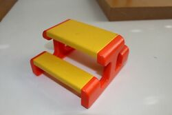 Little Tykes Tikes Vintage Dollhouse Furniture Picnic Table Doll House