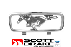 1966 Mustang Standard Grill Corral And Horse - Scott Drake