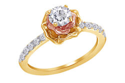 3/4 Diamond Bouquet Engagement Ring In 14k White Gold Christmas Special