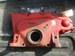 Front Timing Cover Case Ih International 715 Combine 378250r3 Free Shipping