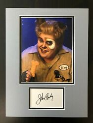 John Candy Signed Autograph Matted Display Spaceballs Home Alone - Option 2