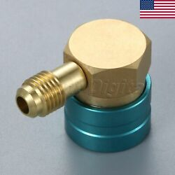 US STOCK Brass Refrigerant Low Side R1234yf to R134A Hose Quick Coupler Vehicle