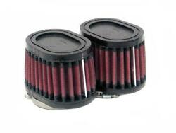 K And N Universal Oval Tapered Air Filter - Rubber End Cap Ru-1822