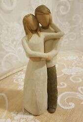 Willow Tree Together 26032 Man And Woman Engagement Wedding Pre-owned Guc
