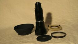 Angenieux 25-250mm T3.9 Type 10x25t2 Zoom Lens Package 25-250 Screw Mount