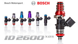 Injector Dynamics High Imp. 2600xds Fuel Injectors For Holden Commodore Vz