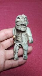 Rare Pre-columbian Mayan Duality Figure From Mexico.