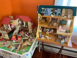Pickup Calico Critters Deluxe Village Country Table Epoch Sylvanian Lot