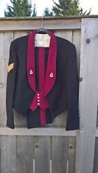 British Royal Army Medical Corps Sergeant Mess Dress Jacket Vest And Pants E.ii
