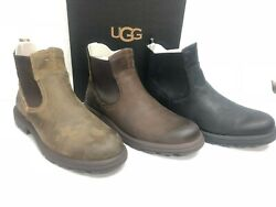 Ugg Australia Menand039s Biltmore Chelsea Ankle Boots Waterproof Leather 1103789