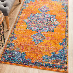 Erden Traditional Coloured Red Rust Modern Rug Runner 3 Sizes Free Delivery