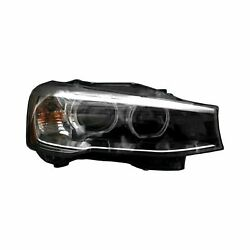 For Bmw X3 15-17 Replace Passenger Side Replacement Headlight Lens And Housing
