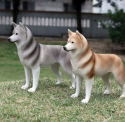 1/6 Scale Siberian Husky Dog For 12in Action Figures Toys Hobbie Army Soldier