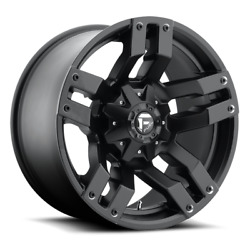 4 20x10 Fuel Matte Black Pump Wheel 5x139.7 And 5x150 For Ford Jeep Toyota Gm