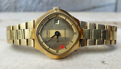 Vintage 2 Zodiak Astrographic And Sst 36000 Day Date Ladies Mens Auto Two Watches