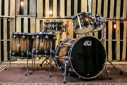 DW Collector's Series Exotic Maple Drum Set 22/10/12/14/16/6.5x14 - SO#1132766